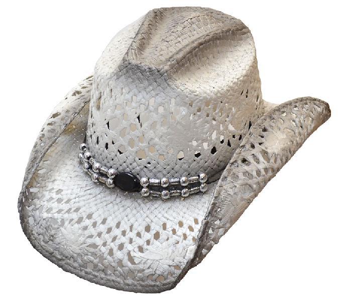 WELIN-74-15 Silver Eve Cowboy Hat